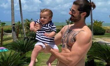 Alok e filho