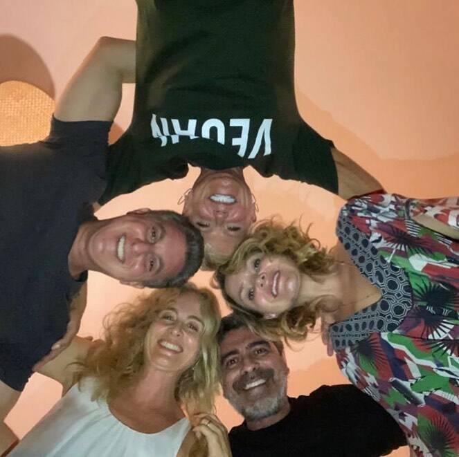 Xuxa, Angélica, Eliana, Luciano e Junno