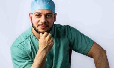 Médico especialista em anestesia, Thiago Chaves Amorim é referência nas redes sociais. Foto: Divulgação