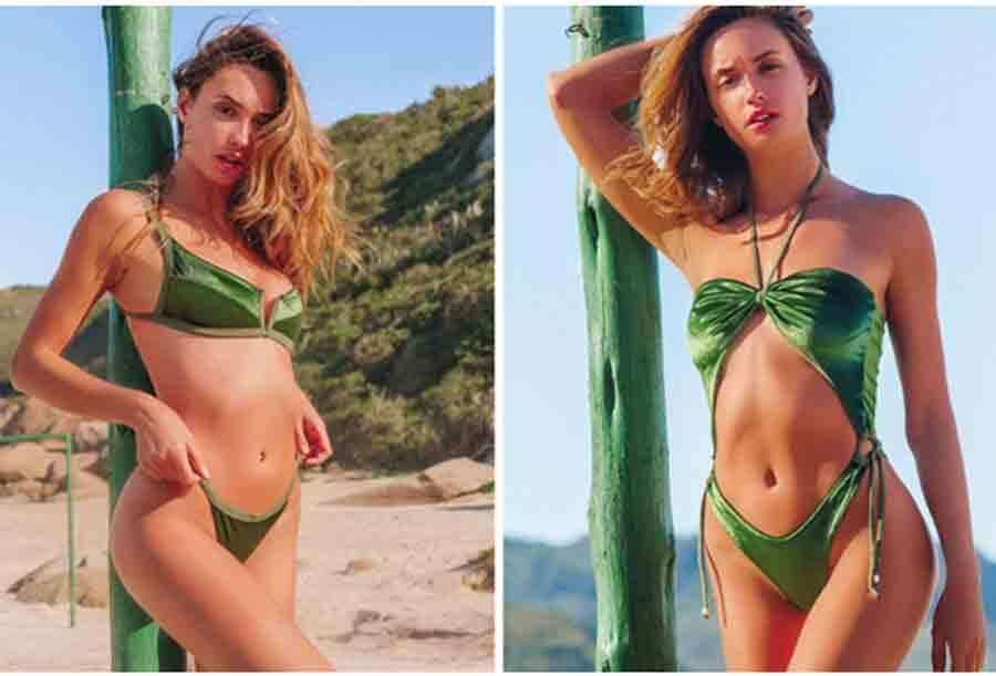 Com moda praia chic, Pajaris apresenta maiôs e biquínis ultradesejáveis. Foto: Divulgação
