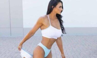 Influenciadora e atleta Nadia Nolan conta sobre sua trajetória de sucesso no mundo fitness