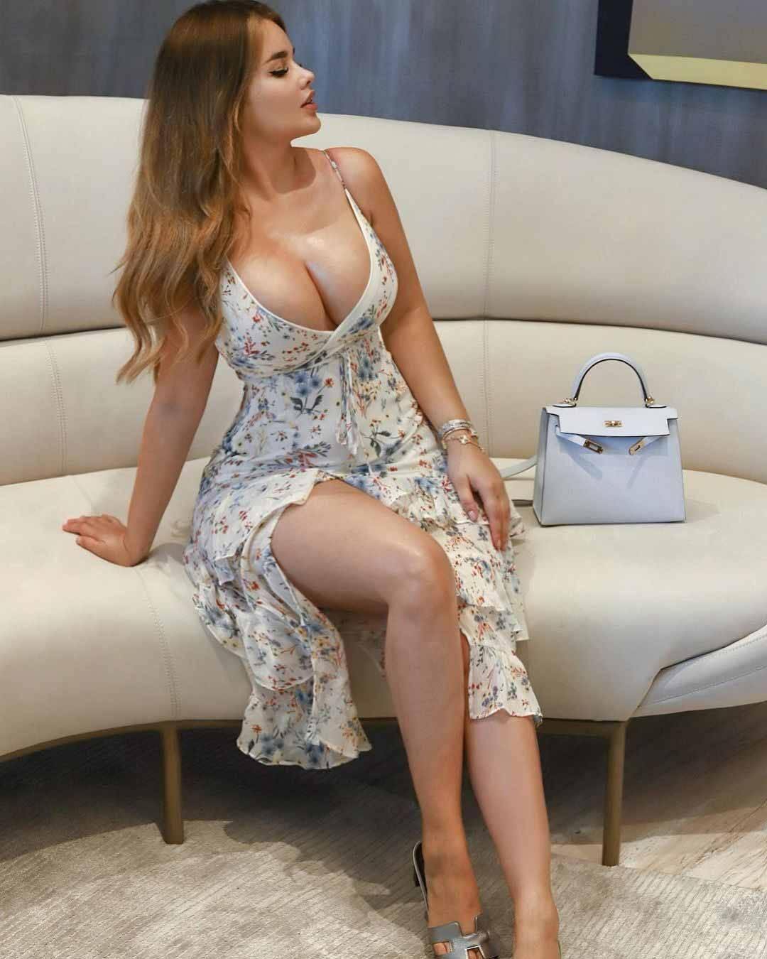 Anastasia Kvitko a mulher das medidas perfeitas. Foto: Reprodução Instagram