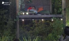 Mariano e Jake aos beijos