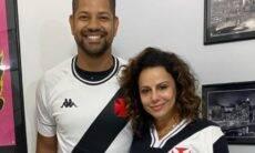 Viviane Araújo e namorado