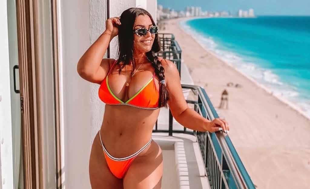 Josi Cesino aproveita férias em Cancún e seguidores babam nas redes. Foto: Divulgação