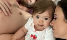 Tatá Werneck posta fotos fofas de Maria Clara e brinca sobre corte de cabelo da filha