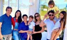Irmão de Andressa Suita manda indireta para Gustavo Lima na foto em família