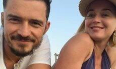 Orlando Bloom posta fotos se declarando para Katy Perry no dia do aniversário da cantora