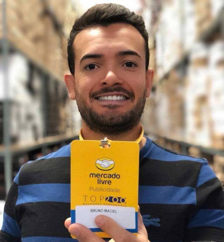 Saiba quem é Bruno Maciel , referência em vendas online. Foto: Divulgação