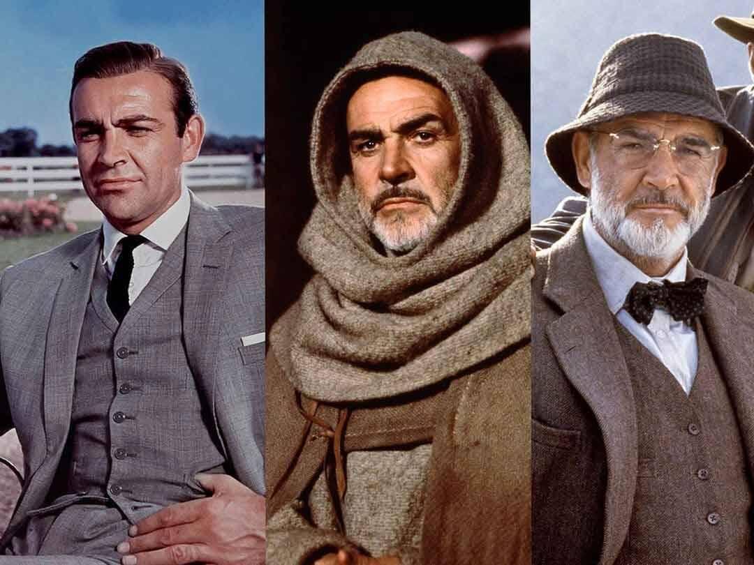 Morre aos 90 anos, Sean Connery, famoso por interpretar o agente secreto 007 James Bond. Foto: Reprodução