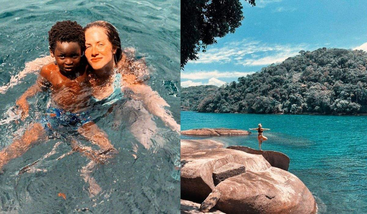 """Giovanna Ewbank curte os dias de sol em Angra dos Reis: """"agradecendo, respirando, amando"""""""