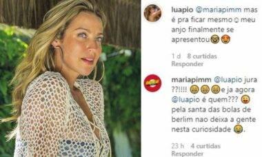 """Luana Piovani descobre identidade de seu admirador secreto: """"meu anjo se apresentou"""""""