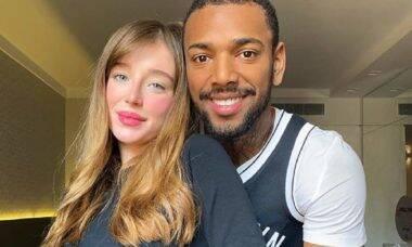"""Duda Reis rebate críticas de que namora com Nego do Borel por interesse: """"eu o amo e ponto"""""""