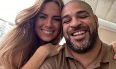 Adriano Imperador apaga as fotos com a namorada e ambos deixam de se seguir no Instagram