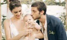 Laura Neiva diz que casamento com Chay Suede se fortaleceu durante a quarentena
