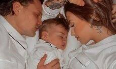 Gabi Brandt e Saulo Pôncio anunciam o nome do segundo filho