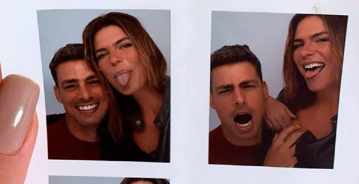 Marianna Goldfarb recorda sequência de fotos divertidas com Cauã Reymond