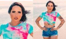 """Perlla é criticada por exagerar dos efeitos e edição em fotos: """"rosto está plastificado"""""""