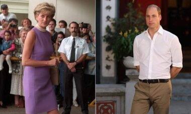 Segredos da realeza! William entrou em prantos ao descobrir a traição de Lady Di pela TV