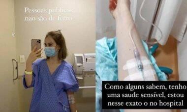 """Sammy Lee vai parar no hospital e desabafa: """"pessoas públicas não são de ferro"""""""