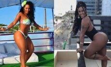"""Vice """"morena do Tchan"""", Rosiane Pinheiro conta que engordou 20kg na quarentena"""