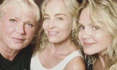 Angélica, Xuxa e Mara celebram aniversário de Eliana