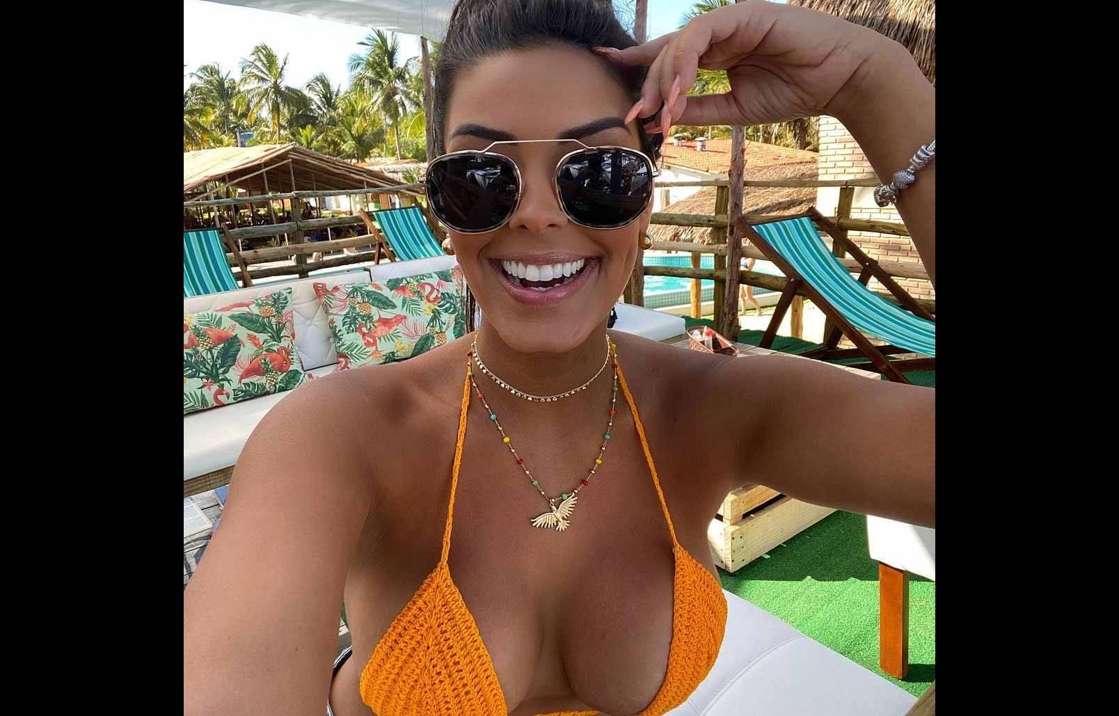 Ivy Moraes exibe seios turbinados e chama atenção dos fãs. Foto: Reprodução Instagram