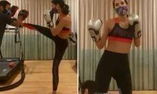 """Bruna Marquezine aparece em treino de luta: """"Malemolência"""""""