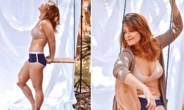 Samara Felippo posta fotos de ensaio sexy no Instagram