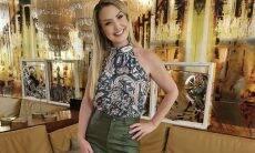 Alessandra Scatena revela que tinha 15 anos quando namorou Gugu