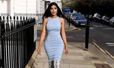 Modelo gasta R$ 7 milhões para ficar parecida com Kim Kardashian