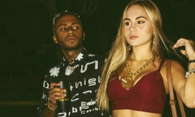 Rapper Orochi recebe críticas por namorar mulher branca