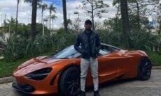 """Nego do Borel compra carro de R$ 2,5 milhões e brinca: """"Tô duro, mas tô feliz"""""""