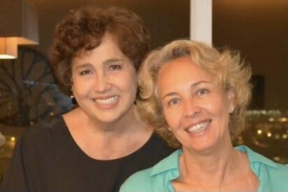 Ex-mulher de Claudia Jimenez faz homenagem para o aniversário da atriz