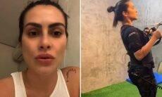 Cleo Pires inicia processo de emagrecimento e já aparece mais magra em fotos