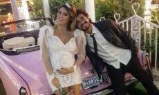 Rafa Brites celebra aniversário de casamento com Felipe Andreoli