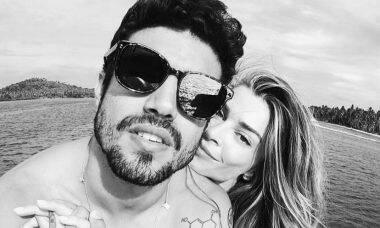 Caio Castro se manifesta sobre boatos de término com Grazi Massafera