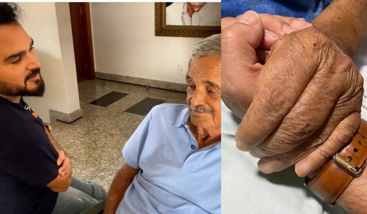 Zezé Di Camargo e Luciano postam homenagens para o pai, Seu Franscisco