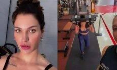 Andressa Suita volta a rotina de treino após a separação com Gusttavo Lima