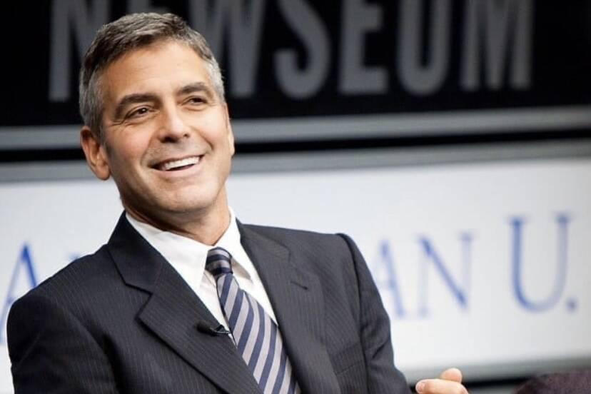 George Clooney deu 1 milhão de dólares para 14 amigos