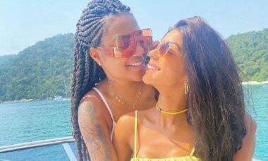 """Ludmilla deixa recado no Twitter da esposa, Brunna Gonçalves: """"quero transar"""""""