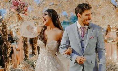 Carol Nakamura se casa com Guilherme Leonel em Búzios