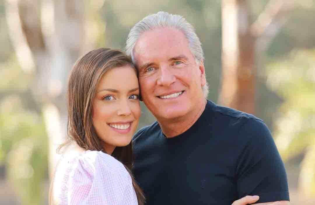 Fabiana   e pai Roberto Justus. Foto: Instagram
