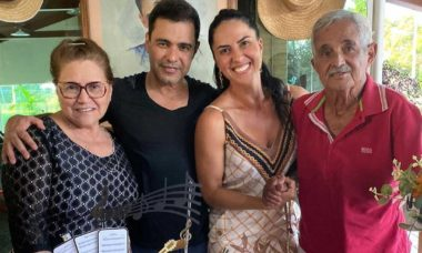 Morre Seu Francisco, pai de Zezé di Camargo e Luciano, aos 83 anos. Foto: Instagram
