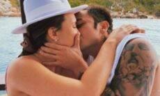 Daniel Caon pede Rafa Kalimann oficialmente em namoro com direito a fogos de artifício. (Foto: Reprodução/Instagram)