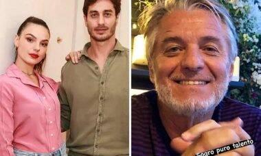 """Morre sogro de Isis Valverde e atriz lamenta: """"foi um enorme prazer te conhecer"""""""