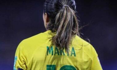 Marta é cortada da seleção feminina após descobrir doença. Foto: Instagram
