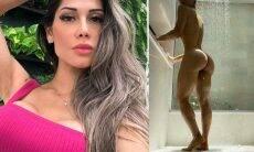 """Mayra Cardi posta foto nua e rebate críticas sobre exposição: """"mostro a bunda porque quero"""""""