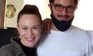 Mariana Ximenez e Victor Collor aparecem juntos pela primeira vez