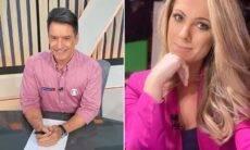 Narrador do SporTV está namorando a jornalista Jacqueline Brazil